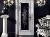 Черный чвет с перламутровым эффектом делают более современным сюжет в неоклассическом стиле